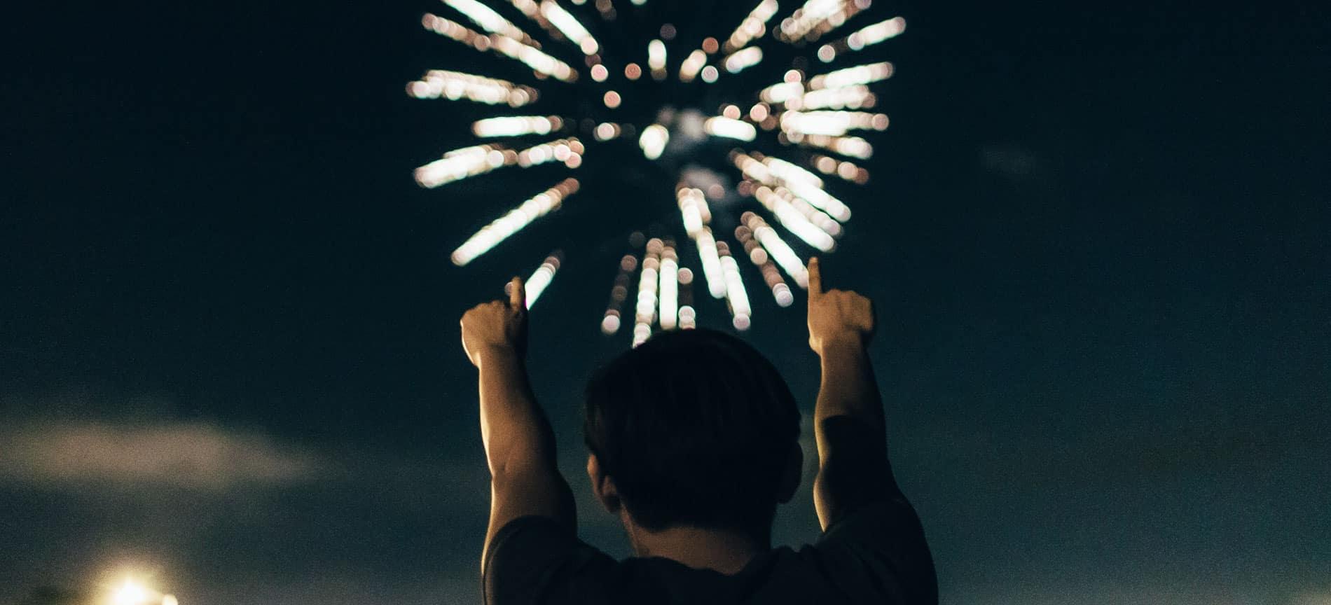Fireworks Slider